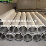 Stainless Steel AISI304L Wire Wrapped Screens for Water Well Drilling