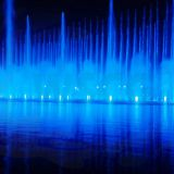 Music Water Fountain with Night Light Show