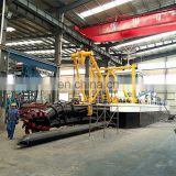 Small Sand Dredger/Cutter Suction Dredger/Sand Dredge With Sand Suction  Pump For Sale