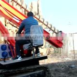 Hydraulic solar hammer pile driver sheet piling rig for sale