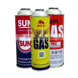 Aerosol can for gas butane and empty butane gas metal tin cans made in china