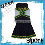 Custom Design Women's Plus Size Cheerleading Uniforms Fashion Sexy Cheerleader Uniform