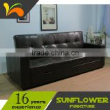 Adjustable folding furniture latest sofa design factory direct price leather sofa bed
