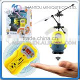Mini Qute RC remote control flying cartoon despicable me model plastic doll action figures kids Electronic toys NO.MQ 037