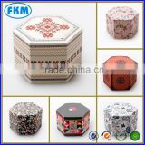 Custom Order and Matt Lamination,Embossing,Glossy Lamination,Varnishing Printing Handling hexagon gift box