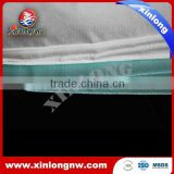 Crepe woodpulp non-woven cloth for cleaning industrial dirt