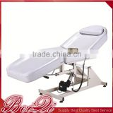Remote control barber shop furniture cosmetic hydraulic facial bed tattoo salon chair folding massage bed