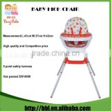 China Wholesale High Quality Plastic Baby Feeding High Chair Highchair From Birth
