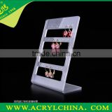 Hot Selling Earring Display Stand Acrylic Earrings Display Perspex Jewelry Display