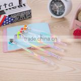 Mixed 0.38mm Bling Bling Diamond Crystal Rainbow Gel Pen Cute School Gel Pen For Students Kids Christmas Gift