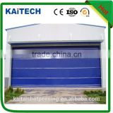 Automatic quick action roller door for factory