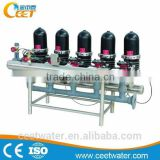 1000-4000GPH Disc filter for agriculture irrigation river water filtration