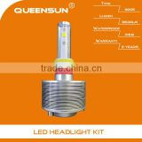 Hot sale 20W 3600 LM 9005 led car headlight kit LED chip build-in WITH 2 YEARS WARRANTY