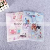 hard plastic pp clear 20 pages b4 size display folder multipage folding document holder pp plastic display book