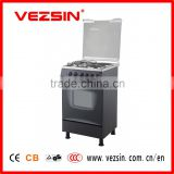Free standing oven with 2 gas burners and 2 hotplate in in 50cm gas cooker oven