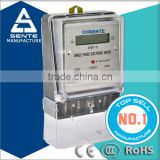 DDS196 single phase static active electronic watt hour rf digital power meter for china supplier