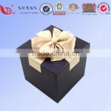 Luxury embossing foldable paper gift box for candle wholesale