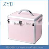 Aluminium Pro Beauty Cosmetic Box Nail Make Up Vanity Salon Case ZYD-HZMmc023