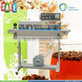 Machinery & Hardware CE approved vertical continuous plastic bag sealer with printing