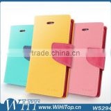 Mix Match Colored Case For Motorola Moto G XT1032 Wholesale Case Wallet Flip Back Cover Shell