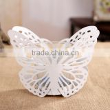 European modern minimalist pastoral candle holder zakka Iron Butterfly Candle lantern wedding props