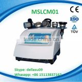 MSLCM01A High End strong sound wave fat system machine best price(ULTRASONIC+VACUUM+RF+BIO LED)