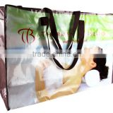 wholesale cheap promotional boutique printed custom made reusable foldable paper shopping bags with logo