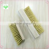 high quality oven Cleaning Brush Wood Handle Barbecue BBQ Metal Kitchen Cleaner wire copper brush