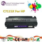 Best seller C7115X compatible printer toner for HP LaserJet 1000/1005