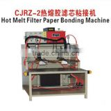 Hot Melt Filter Paper Bonding Machine Filter Manufacturing Equipment