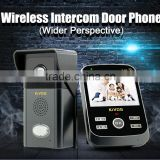 apartment electronic peephole door camera villa video door phone programmable wireless doorbell