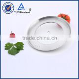 24cm tempered float round glass lid chafing dish