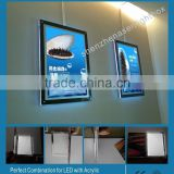 Factory Price Acrylic Photo Frame Magnetic Display Light Box