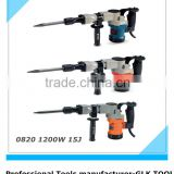 power tools breaker hammer in electric demolition hammer/drill hammer/jackhammer GLK-0820