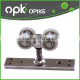 Top Hanging Sliding Door Systems Bi-Fold Door Roller Sliding Hanger Wheel With Ball Bearing