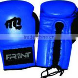 boxing gloves mix color with laces style & logo