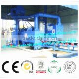 LPG gas cylinder shot blasting machine, CNG Gas Steel Cycliner Shot Blasting Cleaning Machine