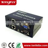 high resolution 1920*1440 1 output HDMI VGA Extender 300m With Audio Converter made in china