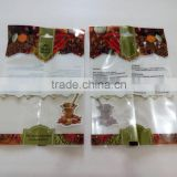 Transparent Plastic Food Grade Spice Packaging Bag For Supermarket Retail Sale                                                                         Quality Choice