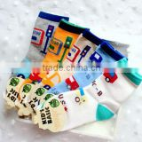 A716 2015 COTTON wholesale south Korea new fashion candy cartoon cute bus taxi car traffic lights children socks