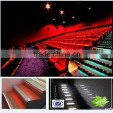 cinema step light, sensor led step light, RGB step stair light