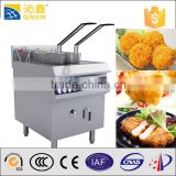 commercial 2 baskets induction turkey fryer machine for fish and chips fryers,electrical hotel deep fryer restaurant stove
