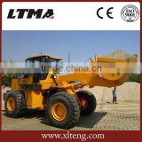 LT958 telescopic wheel loader in China