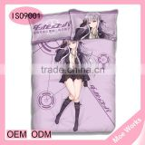 Kirigiri Kyouko Hot Selling 100% polyester Decorative Bedding Set Throw Pillow Case Printed 3D Duvet Cover
