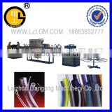 PVC steel wire strenghthen hose production line/pipe making machine /automatic pipe production line