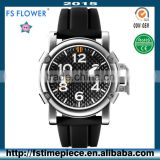 FS FLOWER - Personalized Sports Watches Carbon Fiber Surface Silicone Watch Strap