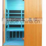 2 person use folding portable bathtub infrared sauna room