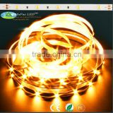 Best candlelight 5050 CRI>90 5050 flexible waterproof rgb led strip 24v for mufue factory