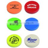 Personalized Assorted Neon colors Round Eraser