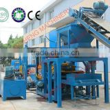 compressed concrete and precast building brick block molding machine